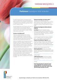 Yardım Broşürü 2 - Parkinson's Victoria