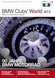 Bmw international clubs council news, 04/2013 - BMW Clubs ...