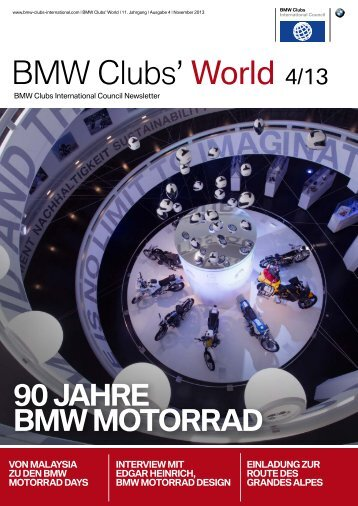 Bmw international clubs council news, 04/2013 - BMW Clubs ...