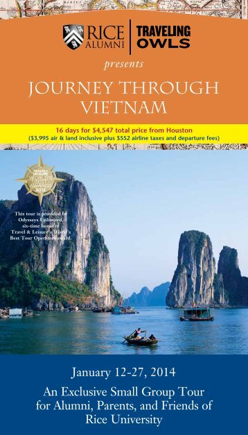 Vietnam/Cambodia - Association of Rice Alumni - Rice University