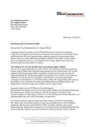 Frau Bundeskanzlerin Dr. Angela Merkel Das Bundeskanzleramt ...