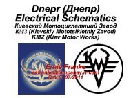 Complete Dnepr Electrical Schematics - Good Karma Productions