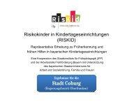 RISKID Stadt Coburg.pptx - Arbeitsstelle Frühförderung Bayern