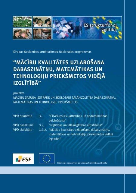 skatīt - ES fondi