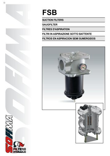suction filters saugfilter filtres d'aspiration filtri in ... - Hydraulik.com