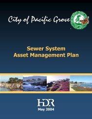 Sewer System Asset Management Plan - Monterey Peninsula Water ...