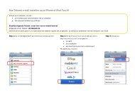 e-mail instelt op je iPhone - Klantenservice - Telenet