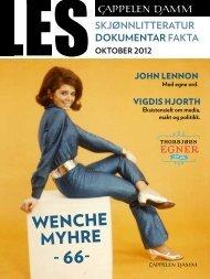 wenche myhre - 66- - Cappelen Damm