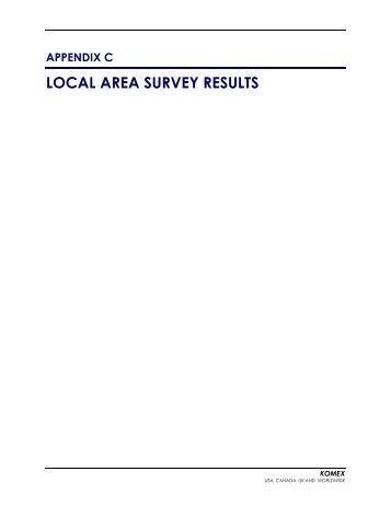 Appendix C - Local Area Survey Results - Omnitrans