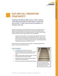 slip and fall prevention: stair safety - GORiskResources.com