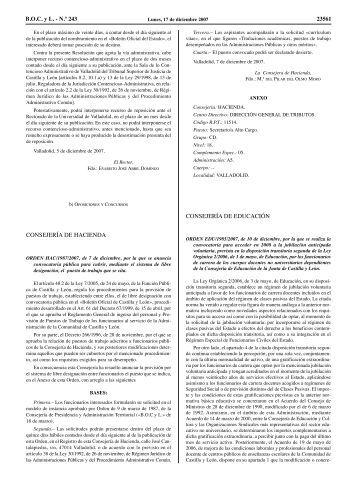 Convocatoria y anexos formato BOCyL - Sindicato Trabajadores de ...