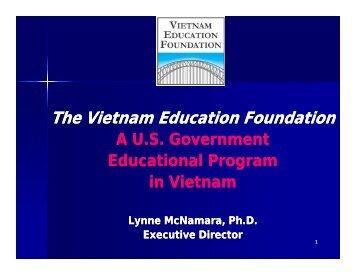 Funding - Vietnam Education Foundation