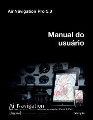 Air Navigation Pro 5.3 Manual do usuário - Xample