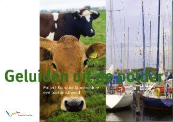 Boekje - 'Geluiden uit de polder, Project Rondom Arnemuiden: een ...