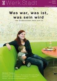 Studentenwerk Halle Werk Stadt 1-2011 (pdf)