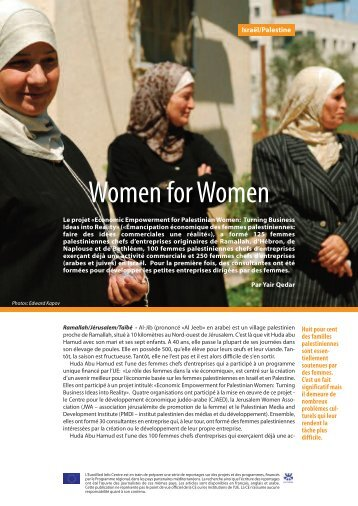 Women for Women - EU Neighbourhood Info Centre