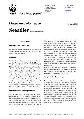 Hintergrundinformation - WWF Arten AZ - WWF Deutschland
