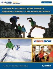 intersport optimiert seine virtuelle umgebung mithilfe von ... - Sysob