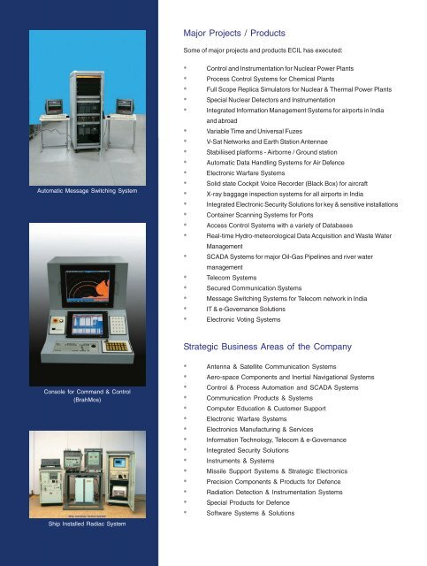 Brochure - Electronics Corporation of India Limited