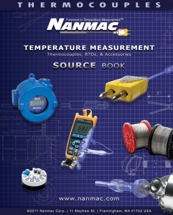 Thermocouple - NANMAC Corporation