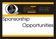 Sponsorship Opportunities - All Occasions Management Group