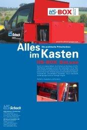 HS-BOX DeLuxe - HS-Schoch Erdbaugeräte