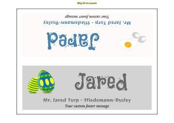 Decadry Templates. labels. template place cards decadry ocb 5107 ...