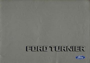 Ford Turnier - Niemcy - 10.1980 - Capri.pl