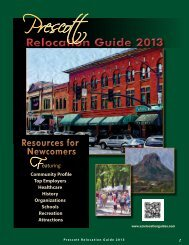 Prescott - Arizona Relocation Guides