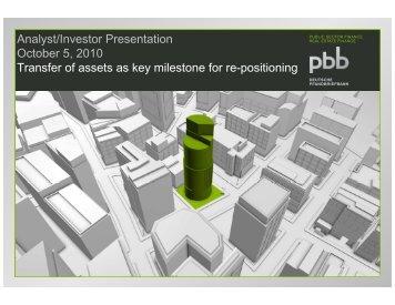 provisional - Deutsche Pfandbriefbank AG