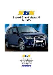 Suzuki Grand Vitara JT Bj. 2005 - SGS