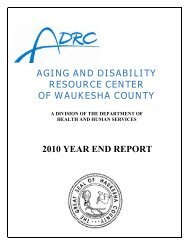 Aging and Disability Resource Center of Waukesha County