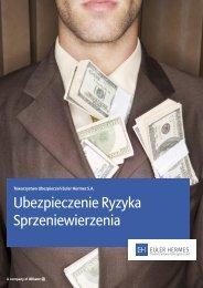 Ubezpieczenie Ryzyka Sprzeniewierzenia - Dziennik ...