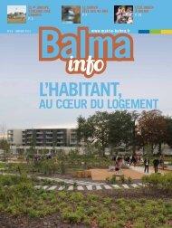 AU CŒUR DU LOGEMENT - Mairie de Balma