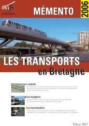 Mémento 2006 - Observatoire Régional des Transports de Bretagne