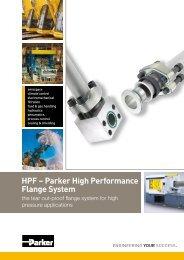 HPF – Parker High Performance Flange System
