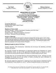 English - Riverside County Registrar of Voters