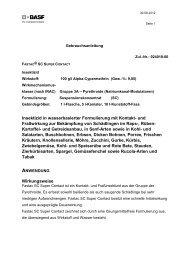 GA Fastac® SC Super Contact - BASF Pflanzenschutz Österreich