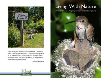 Living With Nature - North Saanich