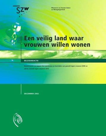 Een veilig land waar vrouwen willen wonen - Pagina niet gevonden
