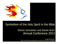 Holy Spirit in the Bible - Bethany Theological Seminary
