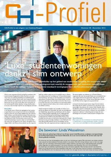 CH-Profiel nr. 48, december 2012 - Cauberg-Huygen Raadgevende ...