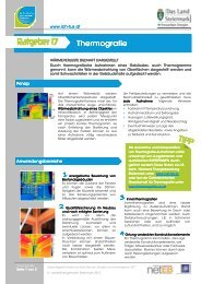 Thermografie - Netzwerk Energieberatung Steiermark