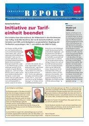 Industrie-Report Juli 2011 - Fachbereich Medien, Kunst und ...
