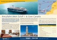 Kreuzfahrt Mein Schiff 1 & Gran Canaria