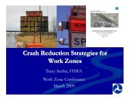 WZ Crash Reduction Strategies - National Work Zone Safety ...