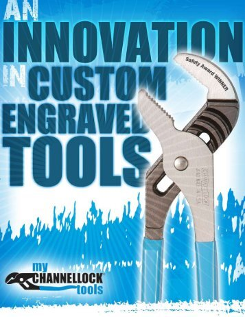 Engraved Channellock® Tools