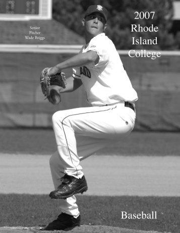 2007 Rhode Island College Baseball - Rhode Island College Athletics
