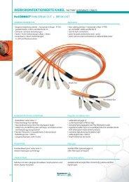 werkskonfektionierte kabel factory assembled cables