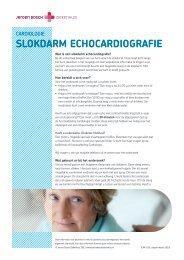 Slokdarm echocardiografie - Jeroen Bosch Ziekenhuis